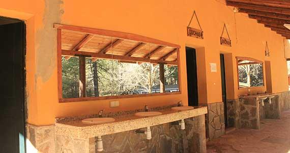 Camping Cazorla - Sierra - duchas