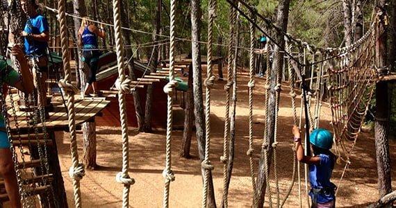 Camping Cazorla - Sierra - parque-multiaventura
