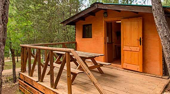 Camping Cazorla - Sierra - Alojamientos